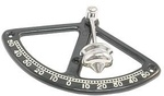 Dőlésmérő műa. fekete 104mm