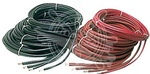 Akkumulátor kábel 18 mm piros