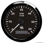 Fordszámmérő 6000rpm+üóraszáml