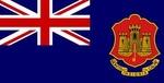 Zászló gibraltári 30x45 KÖTŐS