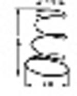 Rugó vit.csigához