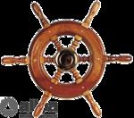 Kormány 6küllős vitorlás370mm
