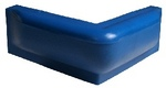 Stégütköző sarok kék, 2*25cm