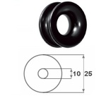 Kötélvezetőgyűrű 7 mm kötélig