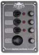Kapcsolótábla 4k 130x100mm