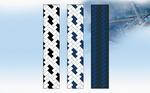 Kötél 12es kikötő fehér/fekete
