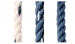 Kötél 12es Kikötő skék/fehér