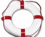 Mentőgyűrű piros-fehér PEGASO