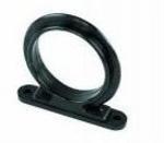 Horgászbottartógyűrű fekete
