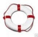 Mentőgyűrű piros-fehér ORCA