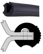 Profil U-gumi Parabordo L28