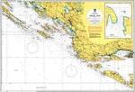Térkép horvát, Sibenik - Split
