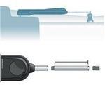 Simrad TP hosszabbítórúd 300mm