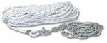 Kötél konf.8as 30m kötél+lánc