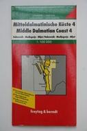Térkép Dalmátia 4
