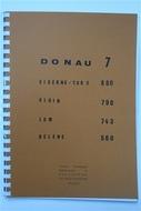 Térkép Donau Band7 Tor 2 - Bel