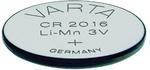 Elem gomb CR2016 3V litium