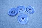 Gcs fül rm. D-szem, kék PVC