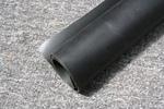 Gcs anyag hypalon fekete/feket