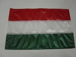 Zászló magyar 40x60 drótra